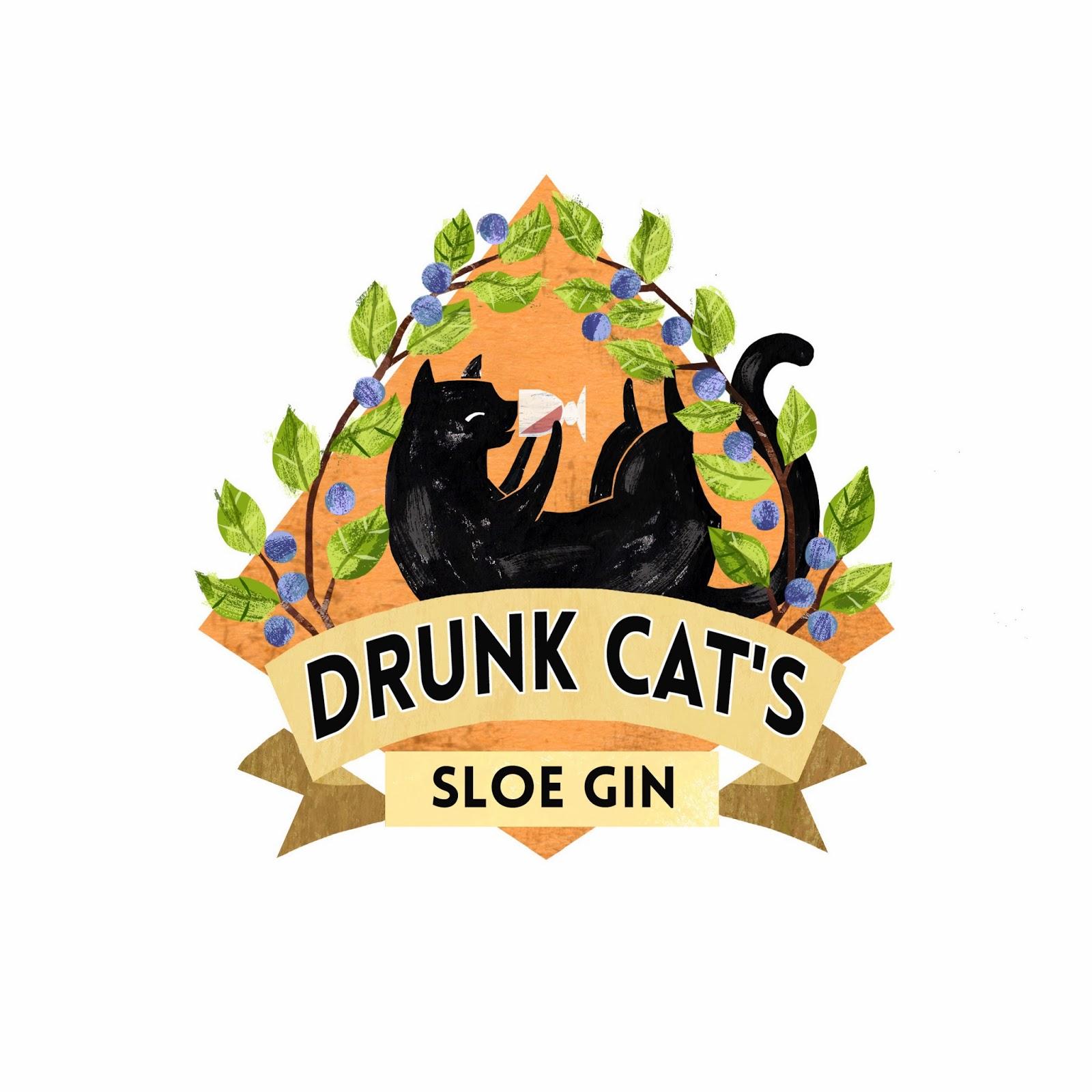 Sw Illustrator Sloe Gin Labels