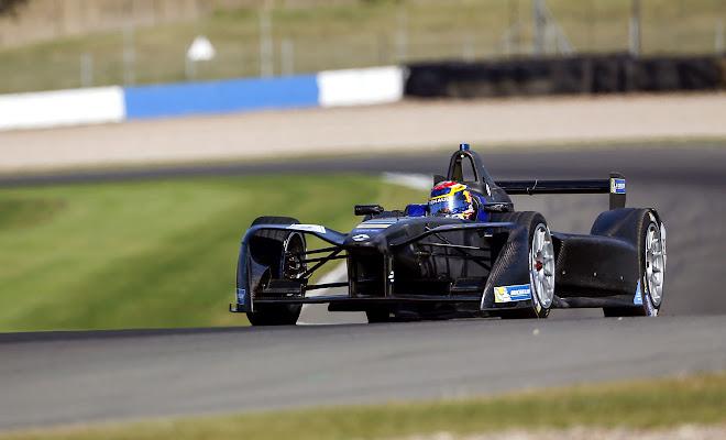 2016 Formula E Renault car
