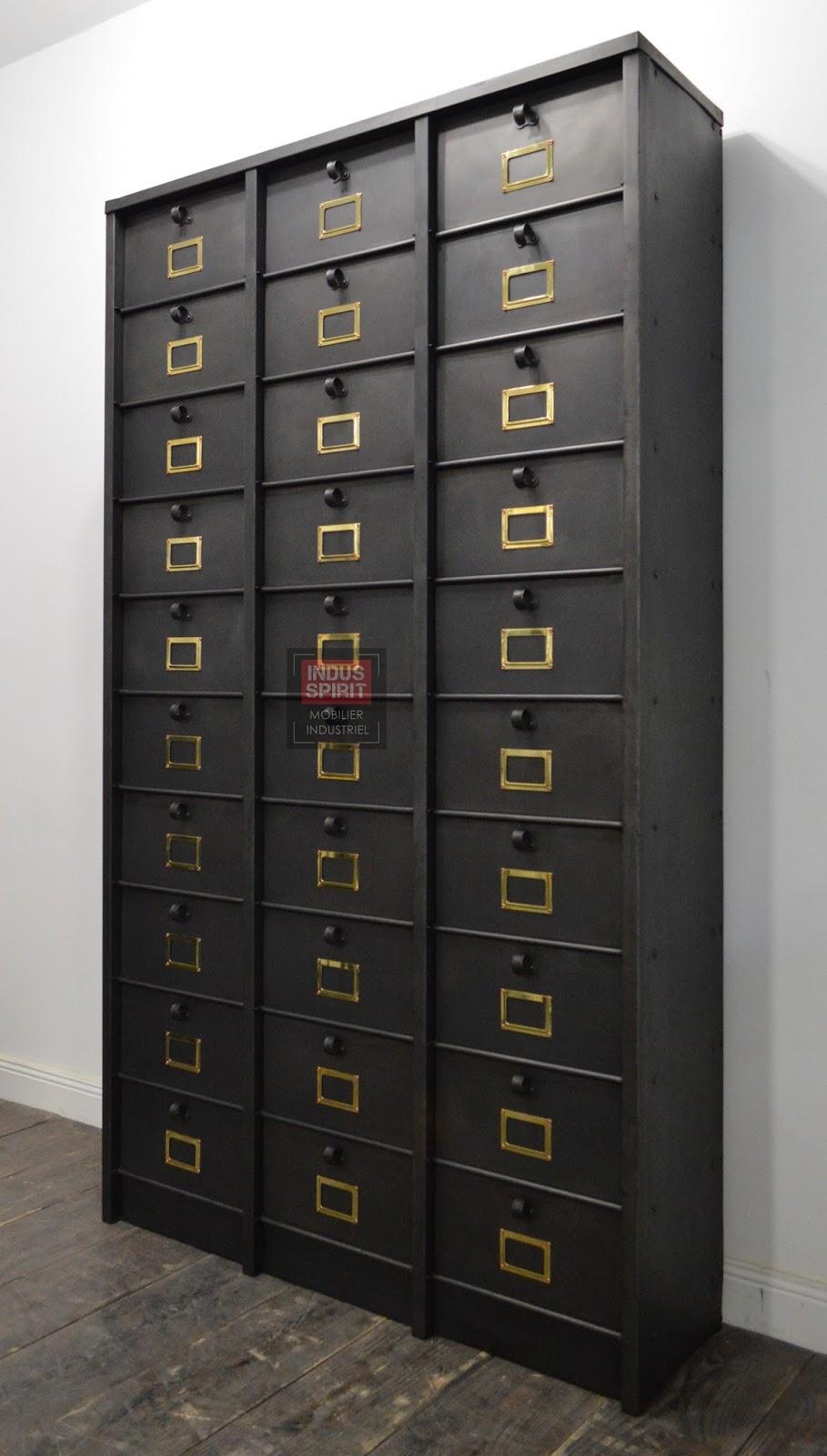 Meuble clapet strafor 30 casiers for Meuble casier