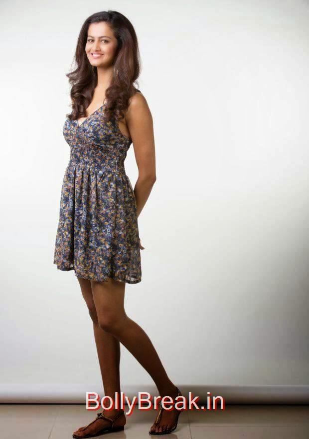 Tollywood Actress Shubra Aiyappa, Shubra Aiyappa hot HD Pics in Skirt Dress from Yavvanam Oka Fantasy Movie