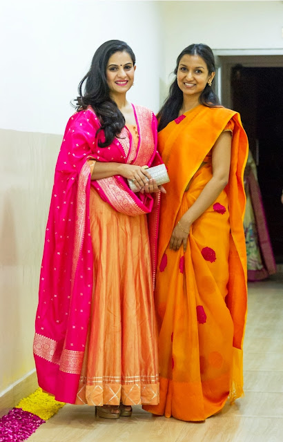 Sonal Jindal with Bhavana Reddy