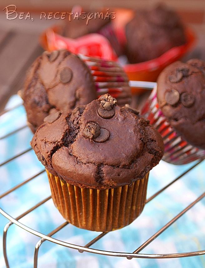 Muffins de chocolate y uno salado cocinar en casa es for Facilisimo cocina postres