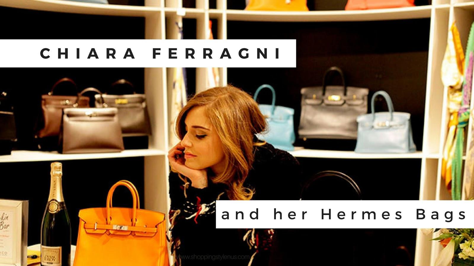 0d94406d3b2 Chiara Ferragni s Latest Hermes Kelly Bag is So Cute! - Shopping ...