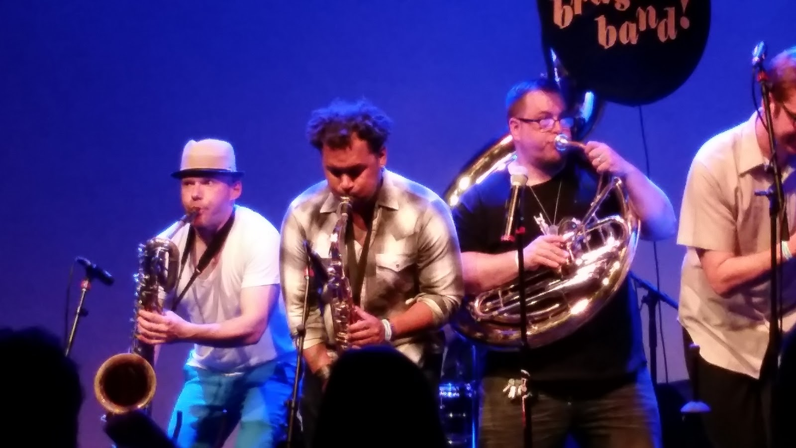 The older you will get   : The Low Down Brass Band