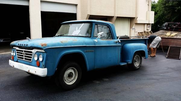 1964 Dodge D100 Truck - Old Truck