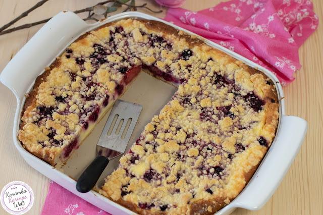 Streusel Beeren Cheesecake