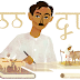 Munshi Premchand's 136th Birthday - Google Doodle