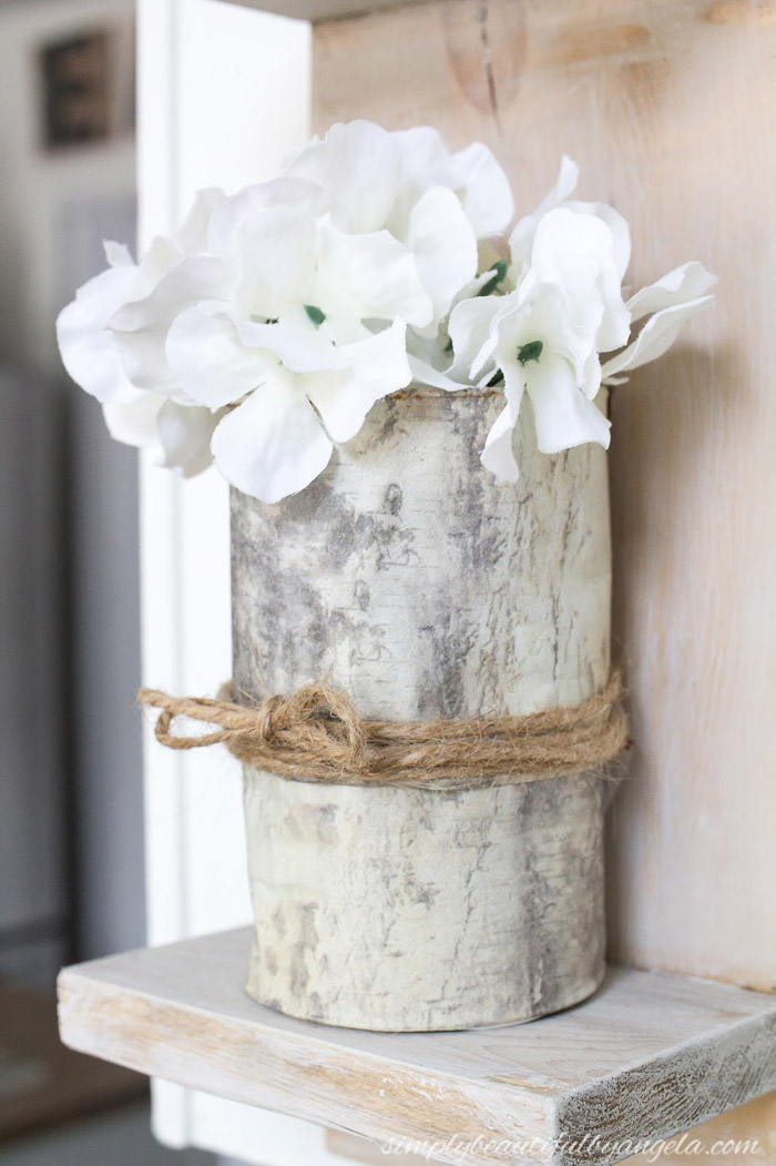 DIY Birch Log