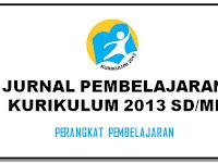 Unduh Jurnal Pembelajaran SD/MI Kurikulum 2013