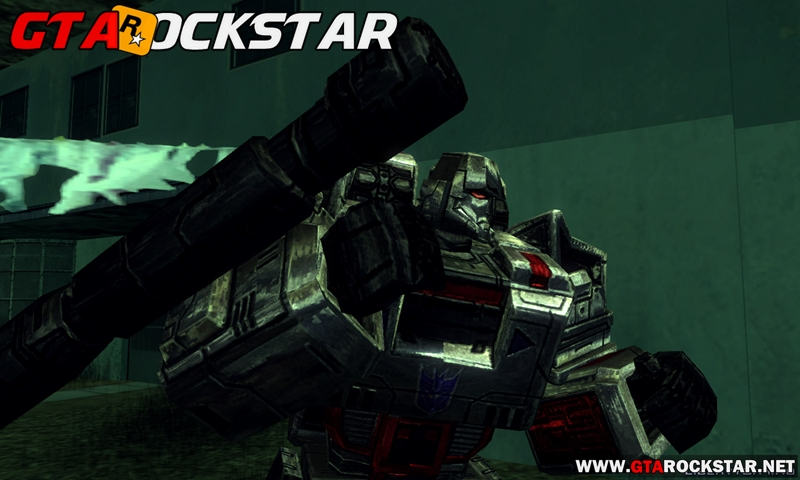 GTA SA - Skin Optimus Prime e Megatron de TRANSFORMERS