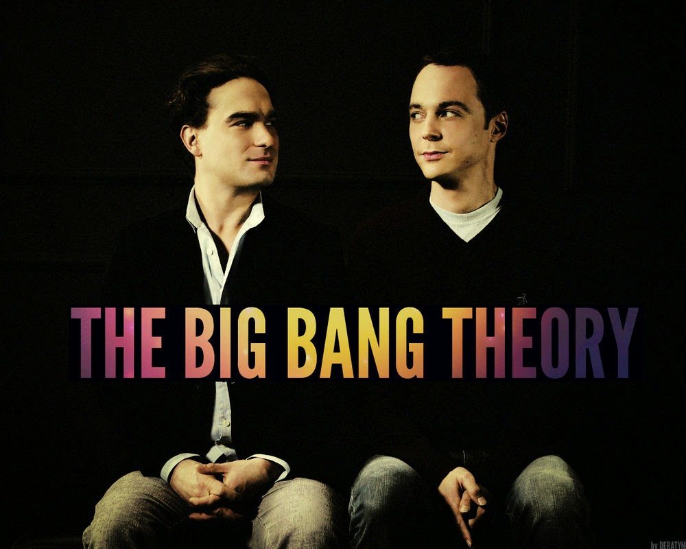 Shledon e Leonard - Papel de parede The Big Bang Theory