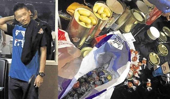 'Saya Tak Tahu Ada Dadah Dalam Tin Coklat' - Rakyat Malaysia Ditahan Cuba Seludup Dadah Di Manila