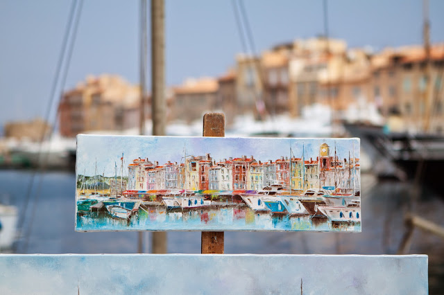 Saint Tropez-quadro
