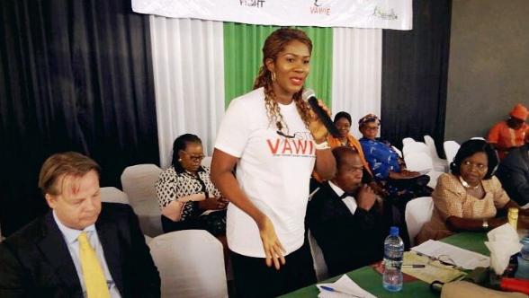 stephanie okereke anti violence campaign