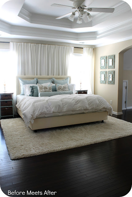Master Bedroom Update: DIY By Design: Swing Into Spring