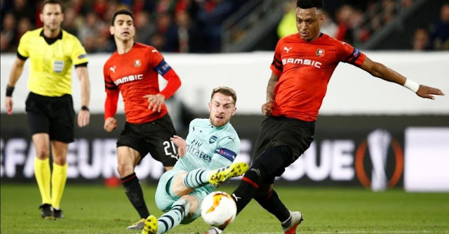 Prediksi Skor Arsenal vs Rennes 15 Maret 2019 Liga Eropa