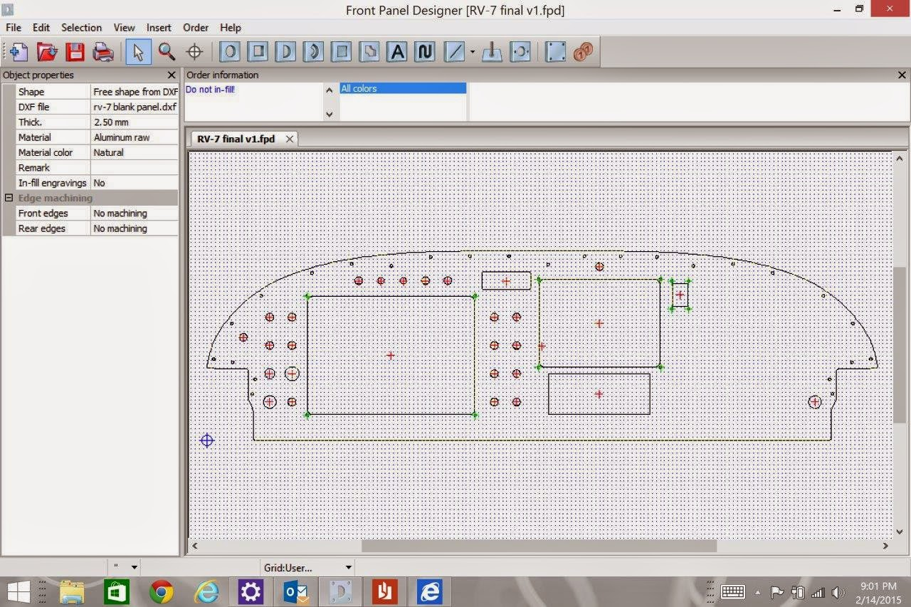 Will S Rv 7 Project Instrument Panel Layout 6 Hours