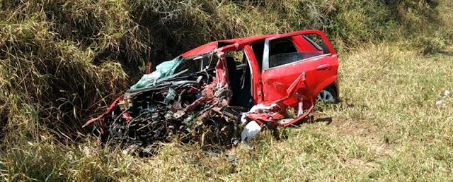 Cândido de Abreu: Motorista morre em acidente na PR-487