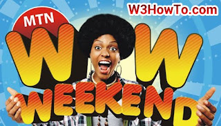 Code to Check MTN Wow Weekend Data Plan Balance on Your Phone price in nigeria