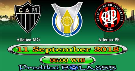 Prediksi Bola855 Atletico-MG vs Atletico-PR 11 September 2018