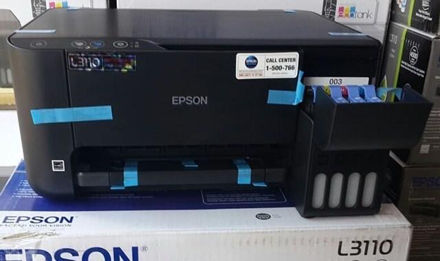 Kelebihan Printer Epson EcoTank L3110 (Spesifikasi dan Harga) Terbaru
