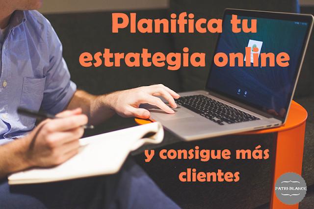 Planifica tu estrategia de negocio y consigue más seguidores/clientes
