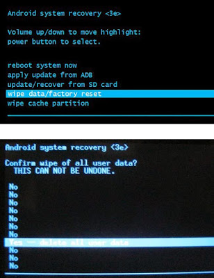 Cara Hard Factory Reset HP Android Evercoss A5A Bintang