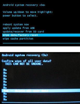 Cara Hard Factory Reset HP Android Evercoss A5A Bintang