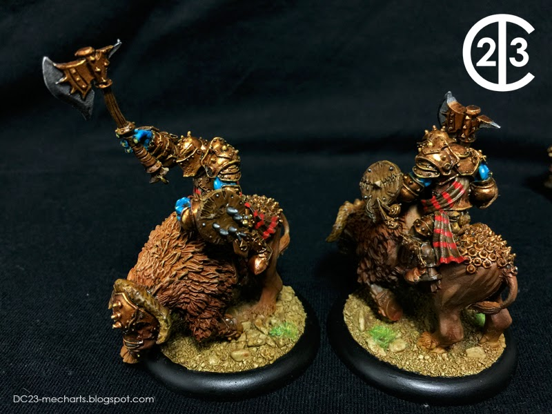 Tollbloods Trollkin Long Riders verDC23photo