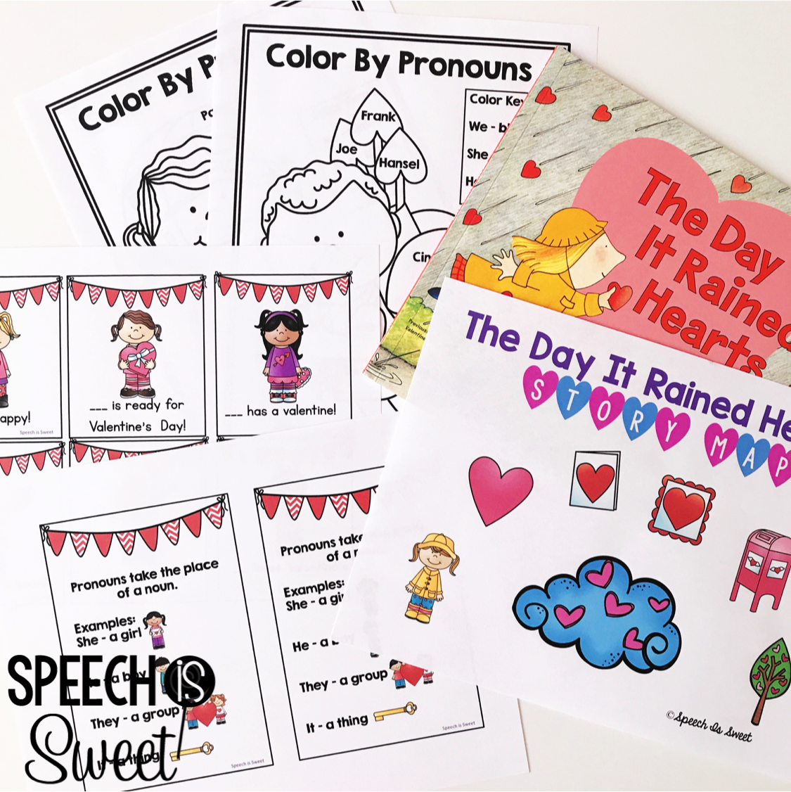 Speech Is Sweet Valentine S Day Theme In Speech Therapy
