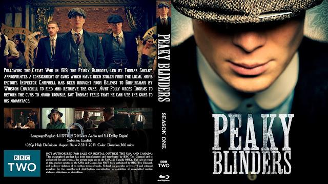 Peaky Blinders Season 1 Bluray Cover