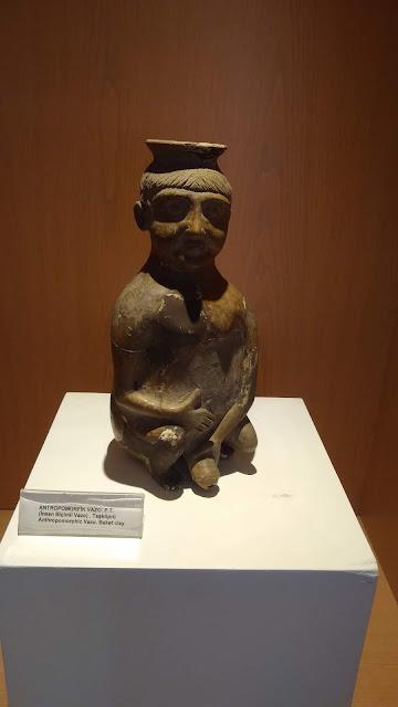 Antropomorfik Vazo - P.T. (İnsan Biçimli Vazo) Taşköprü - Kastamonu Müzesi
