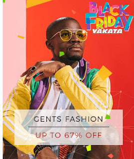 GENTS FASHION on Konga black friday 2017