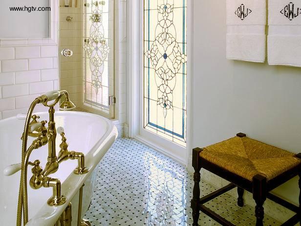 Cuarto de baño tradicional
