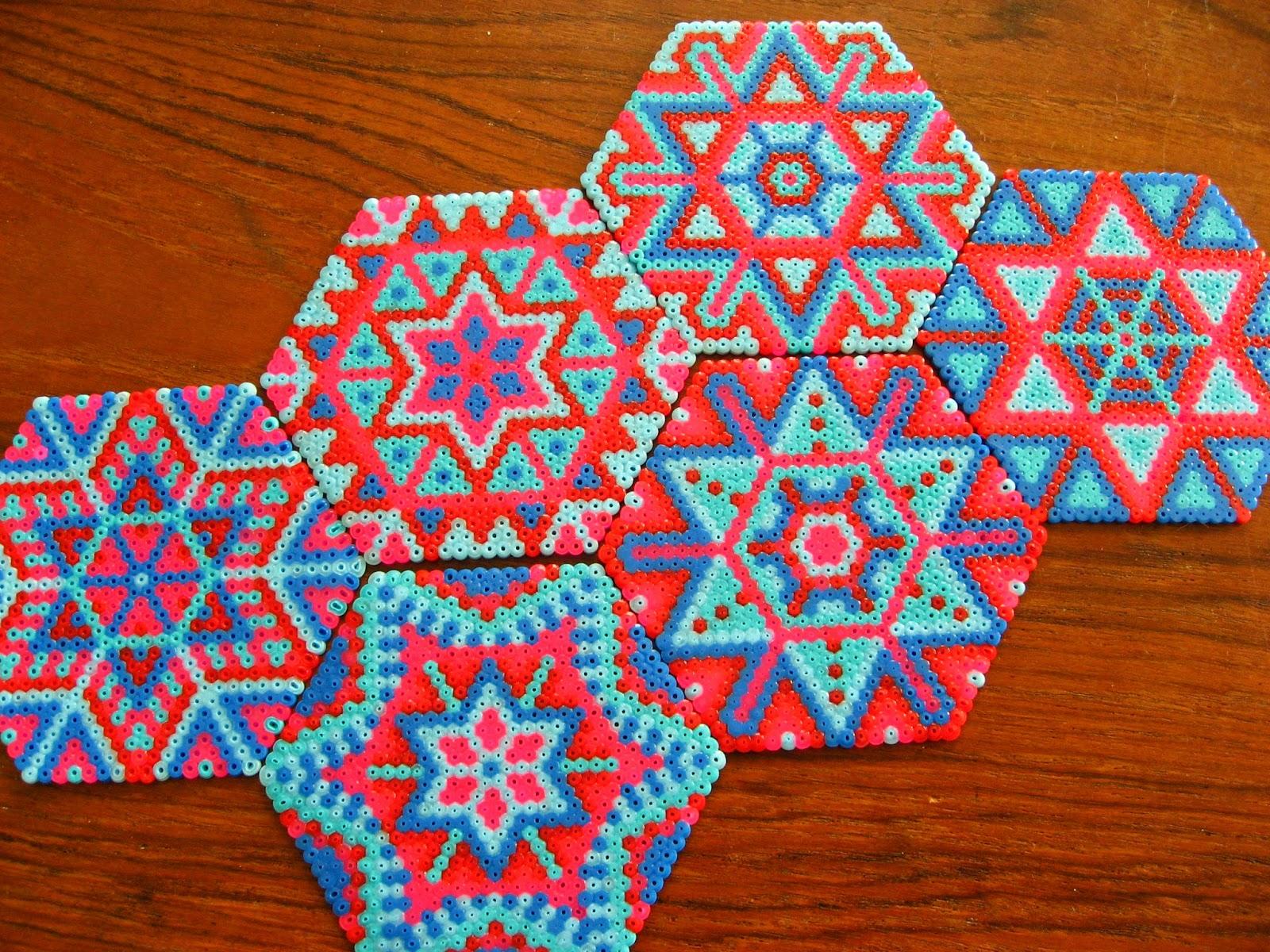 Oklyous Creative World Hama Bead Coasters