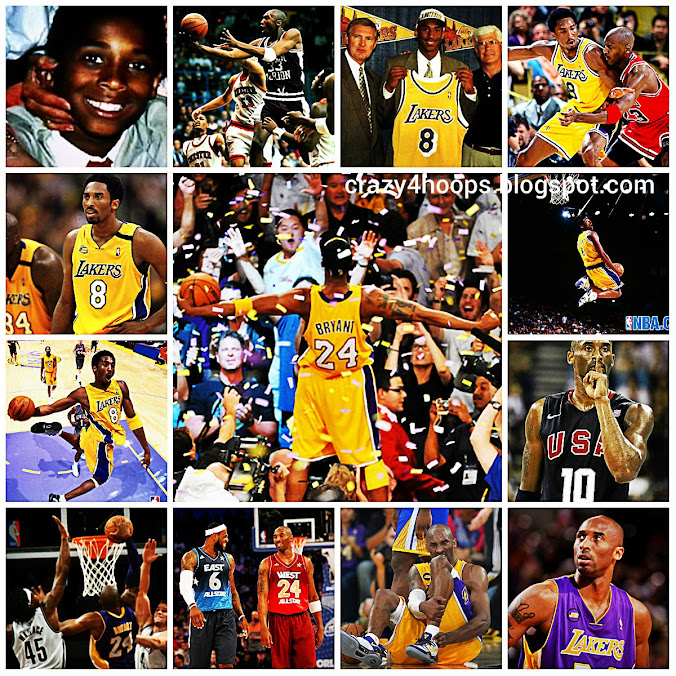 Kobe Bryant Through the Ages : A look at the Career of Legendary Kobe Bryant HD