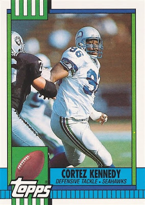 1990 Topps Traded #44T Cortez Kennedy
