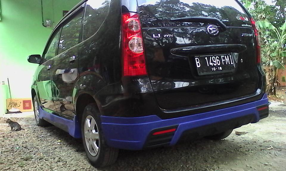 Modifikasi Avanza Xenia Old - Aura Style | Body kit Mobil