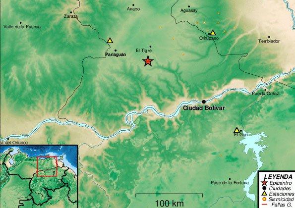 Temblor de 3 grados en El Tigre despertó a los ciudadanos