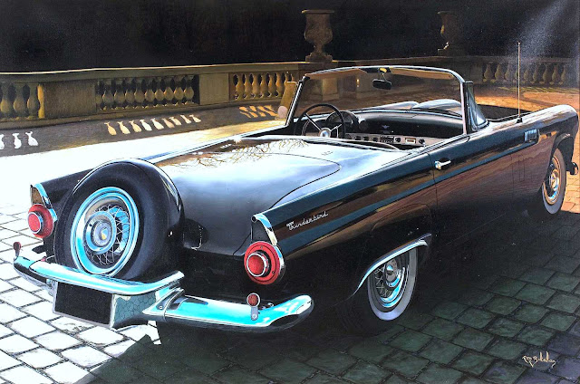 a Ron Balaban Thunderbird painting