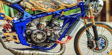 Modifikasi Motor Drag Sonic