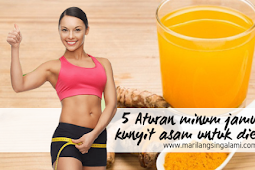 5 Aturan Minum Jamu Kunyit Asam untuk Diet