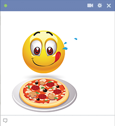 Pizza Night Facebook Sticker