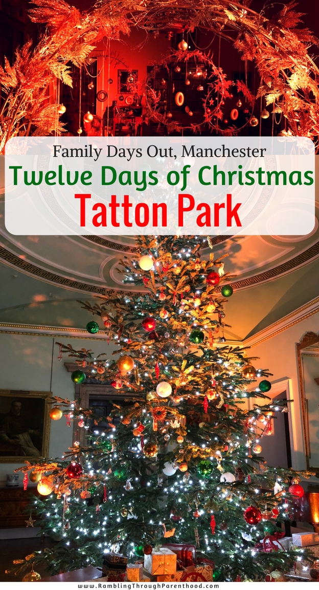 Christmas is always a magical time of year at Tatton Park. Its beautiful landscaped gardens, imposing mansion, thriving farm and deer park make it fabulous for a family day out. The decorations in the Mansion this year are inspired by The Twelve Days of Christmas and are a glamorous mix of traditional and contemporary.