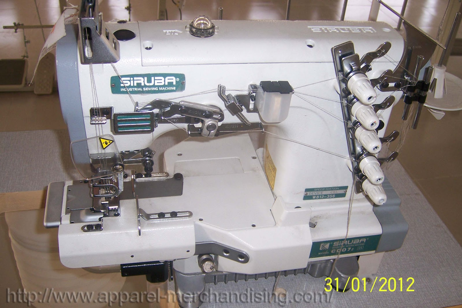 Apparel Merchandising Machine Wise Sewing Operation Knit