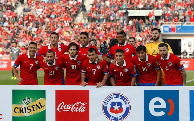 Formación de Chile ante Paraguay, amistoso disputado el 5 de septiembre de 2015