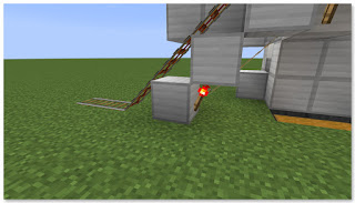 Minecraft トロッコ輸送 積み込み駅 作り方⑦
