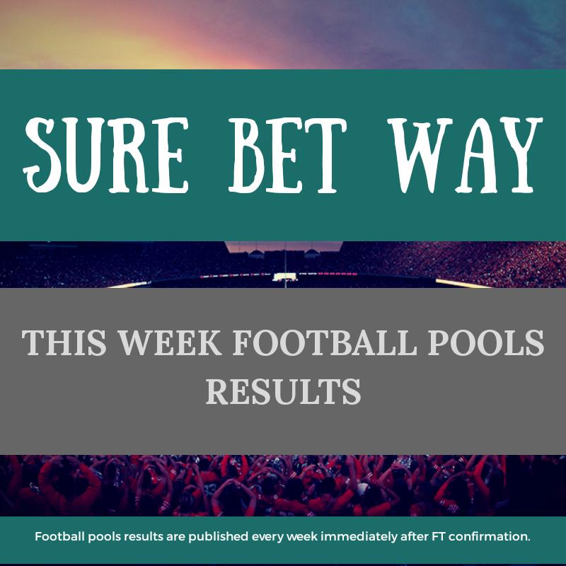 WEEK 14: UK FOOTBALL POOLS RESULTS | Sure Bet Way