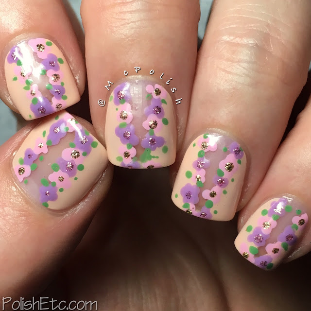 Floral Nails for the #31DC2018Weekly by McPolish