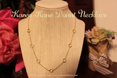 image of Karen Kane donut necklace
